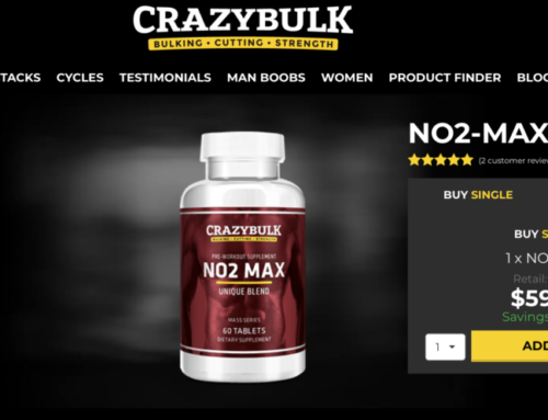 NO2 MAX Review (CrazyBulk) | Pre-Workout Supplement | Power – Energy – Recovery
