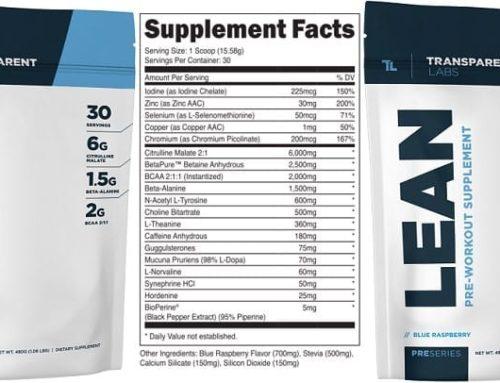 Transparent Labs Lean | REVIEW | Pre-Workout Fat Loss Supplement
