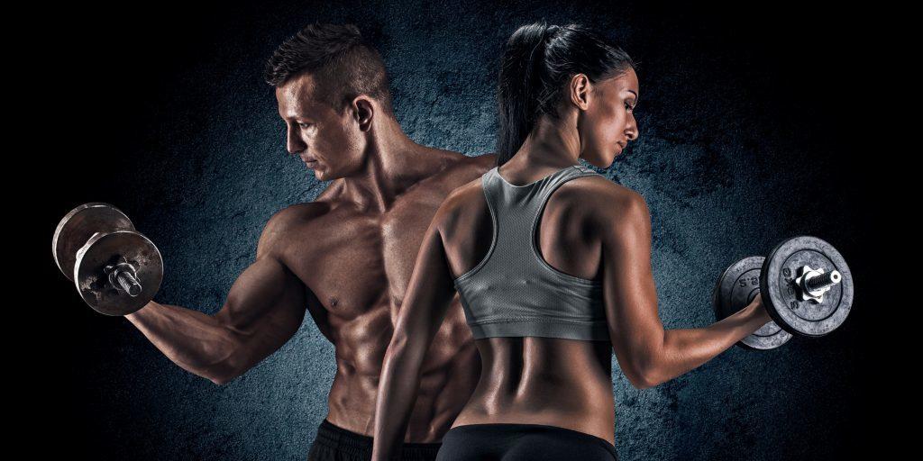 bodybuilding-couple