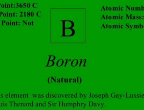 Boron | Everything you should know – Benefits – Side effects