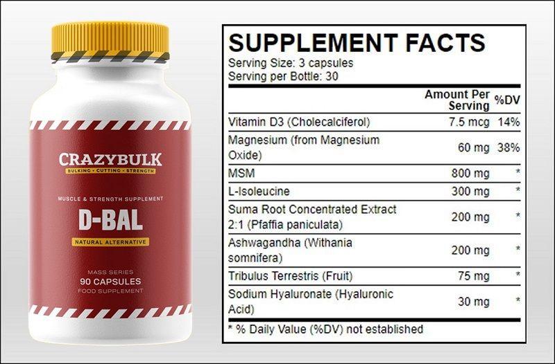 dbal-legal-bulking-supplement-ingredients